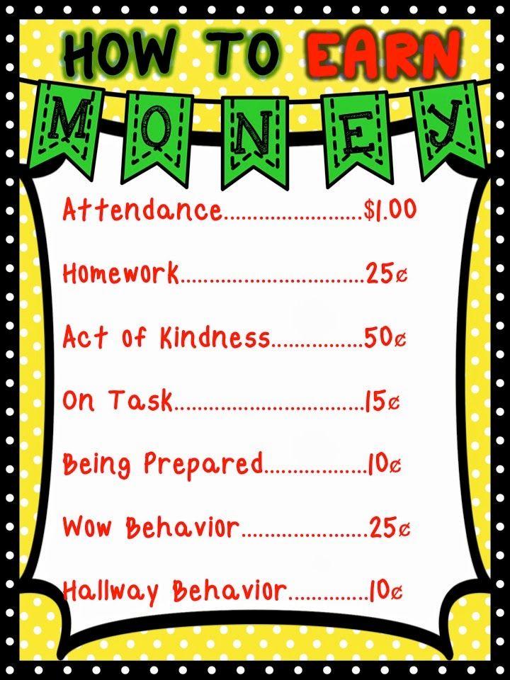 Teach Two Reach 2nd Grade Happenings: Bright Math Ideas Blog Hop!! Money Management System