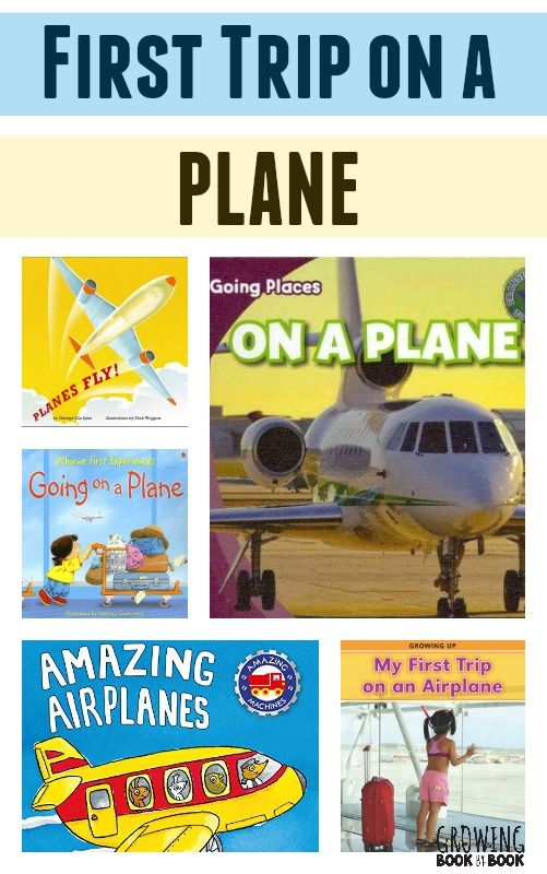 Help young children prepare for their first airplane flight with these great books about planes.