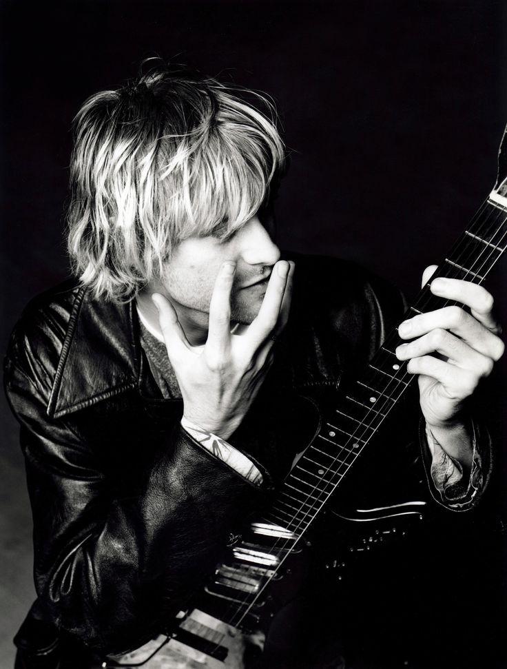 Kurt Cobain by Charlie Hoselton, 1992