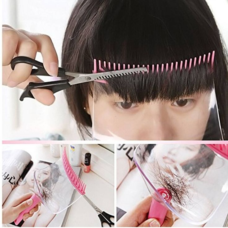 LuckyFine Hair Cutting Tools Hair Clipper Trimmer Bangs Comb Bangs Cut Supporter Bangs Accessories ** Want to know more, click on the image. #hairdresser