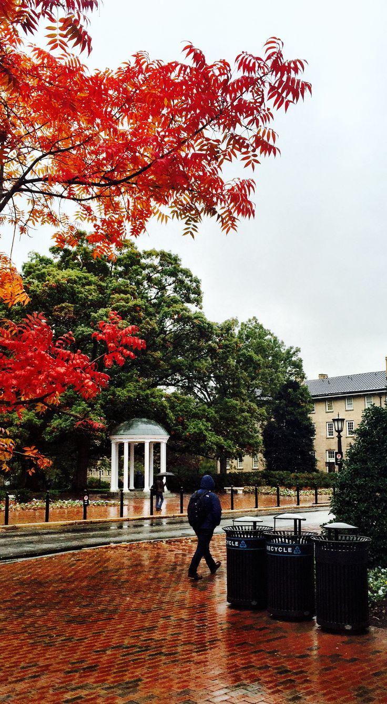 Chapel Hill in the fall. #TARgram #UNCAlumni alumni.unc.edu
