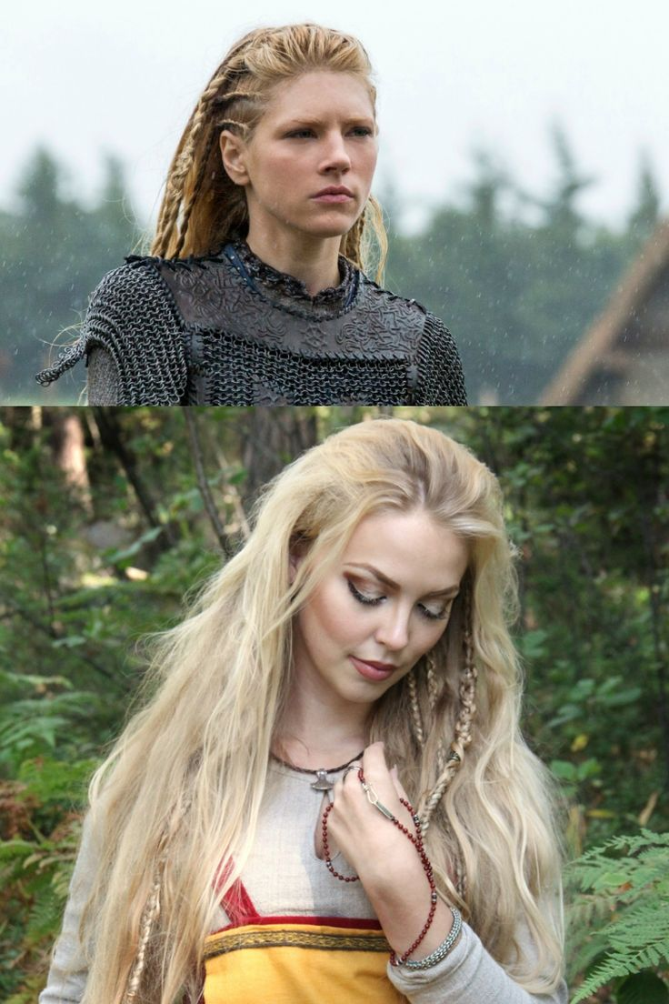 wikinger frisuren ffrauen offene haare zöpfe interpretieren #frisuren #hairstyle #hair