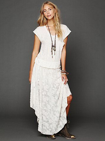 Free People Free People Fit For A Princess Dress