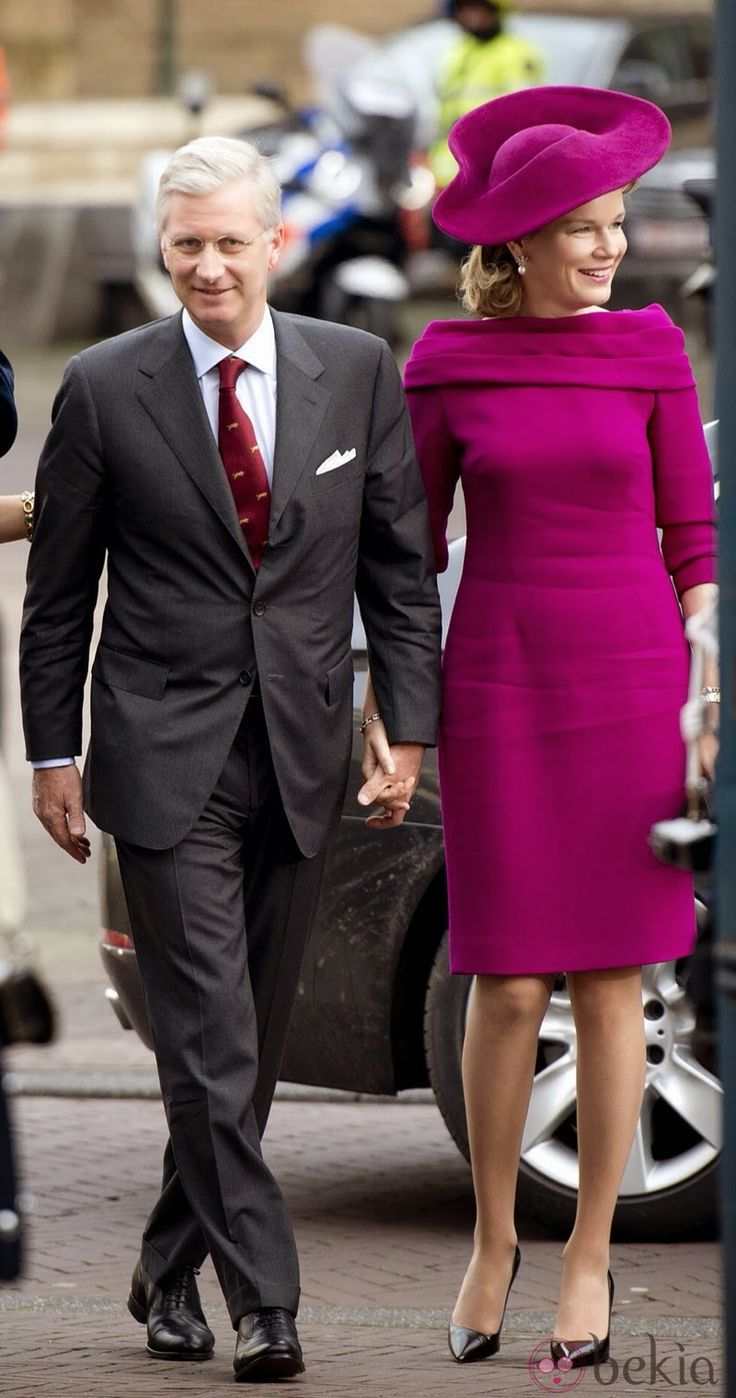 King Philippe and Queen Mathilde Visit The Netherlands