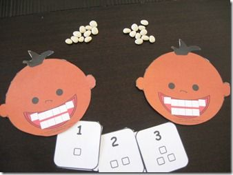 Counting activity that corresponds with a trip to the dentist!