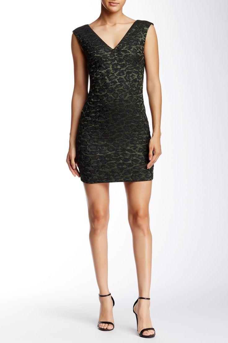 Jayda Low V-Neck Dress