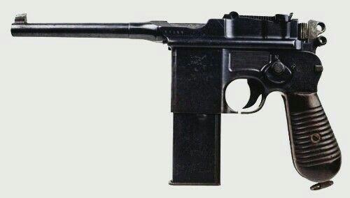 Mauser M712 Schnellfeuer - 7.63x25mm Mauser - Pistol