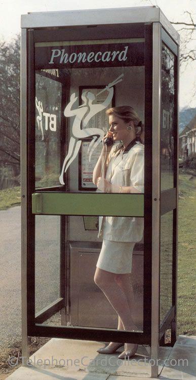BT Phonecard KX100 telephone box