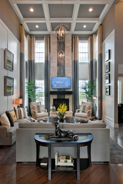 Toll Brothers   The Henley Family Room