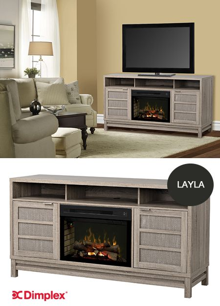 NEW Layla features woven rattan accents, lime oak finish, and sleek metal handles on soft closing doors. You'll love switching on the dazzling natural-looking fire, from the comfort of your chair, with our multi function remote. Find our more about Layla, electric fireplace media console on our website http://hubs.ly/H02FP130 If you'll be at High Point Market you can see the Layla model at our showroom! Dimplex Showroom 2308 #HPMKT