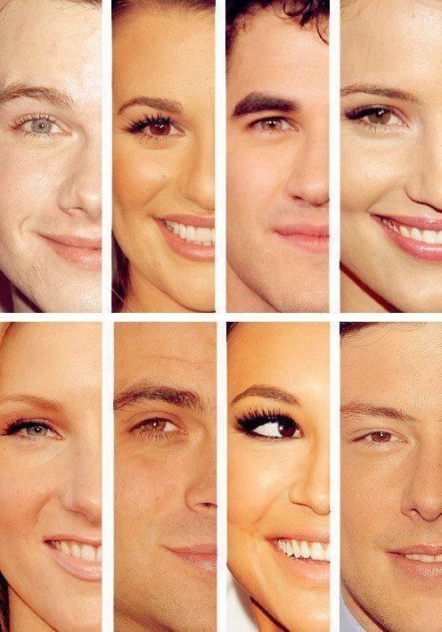 O melhor elenco de todos I Glee Faces