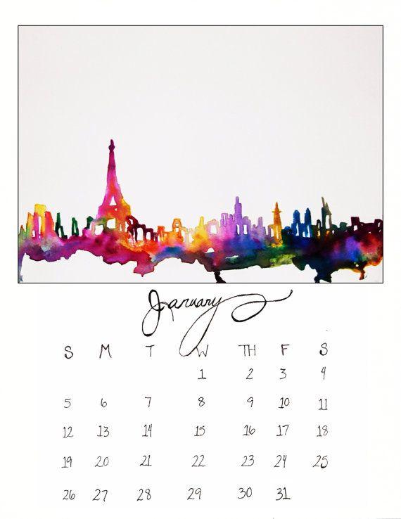 Travel Envy Series 2014 Calendar