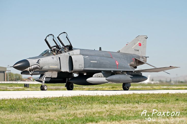 https://flic.kr/p/RdUbgs | Turkish Air Force | McDonnell Douglas F-4E-2020 Phantom | 73-1046 | 111 Filo 'Panter' - Eskisehir Air Base, Turkey | NTM15 - Konya Air Base, Turkey