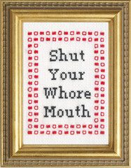 Subversive Cross Stitch Patterns. I love the site, but they cost money. :'(