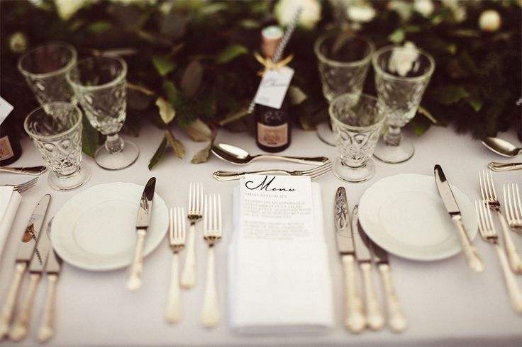 PHOTOGRAPHY Joel + Justyna Bedford; St. Tropez Wedding Marriage Villa Belrose; white and green wedding decor;