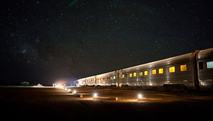 The Ghan night stop