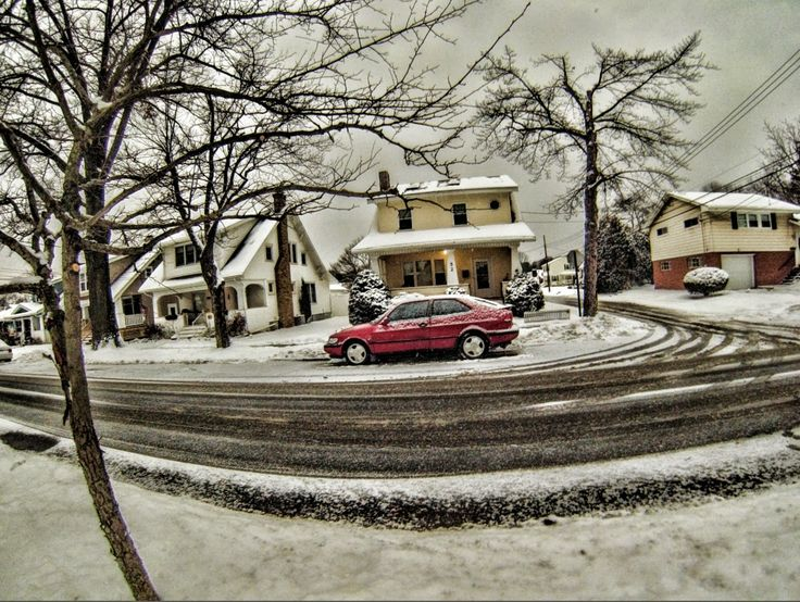 Winter car and house. HDR | My Photography by Paul Campagna | Pinterest | House, My house and Cars