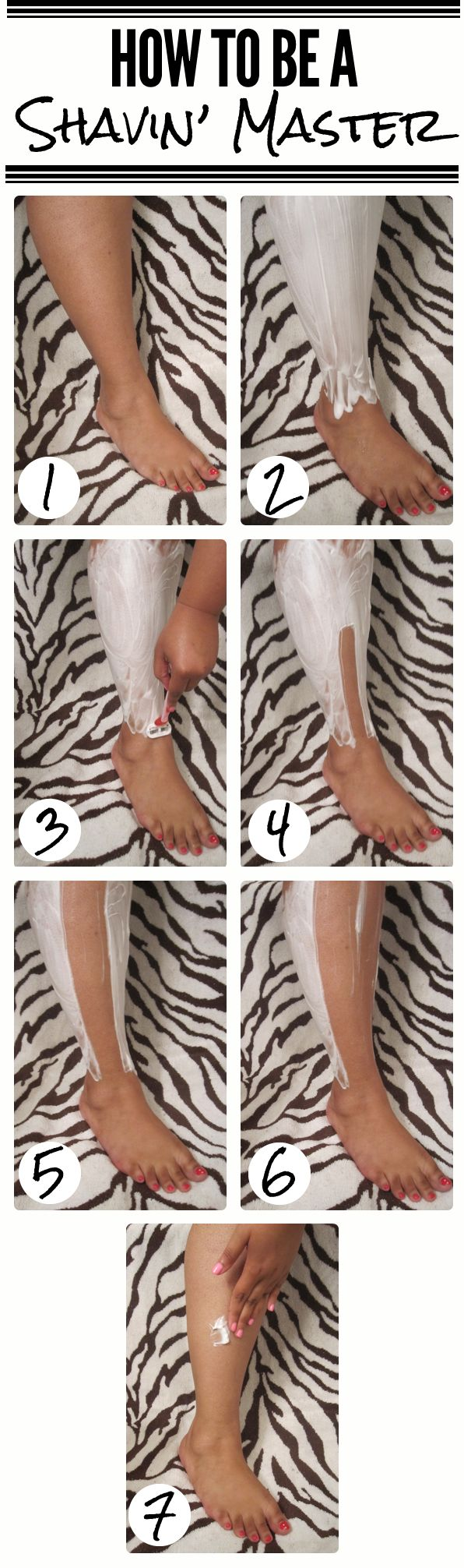 A Few Useful Tips On Shaving Your Legs