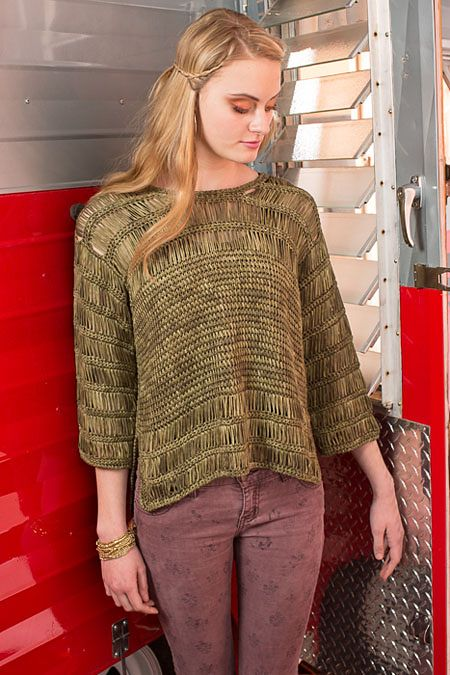 Ravelry: Argosy Top pattern by Lily M. Chin