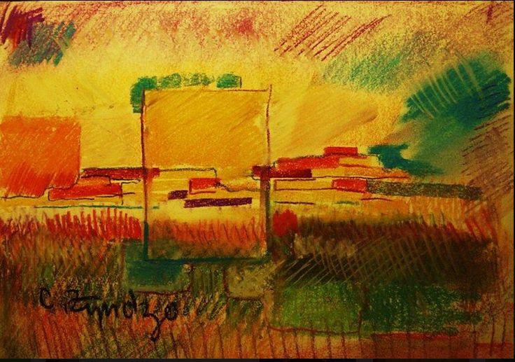 Pastels, original by Cezary Zyndzo