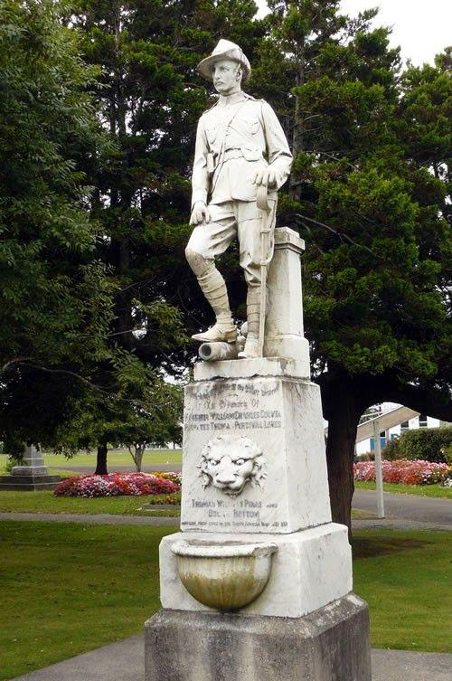 Westport South African War memorial