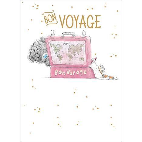 Bon Voyage Me to You Bear Leaving Card