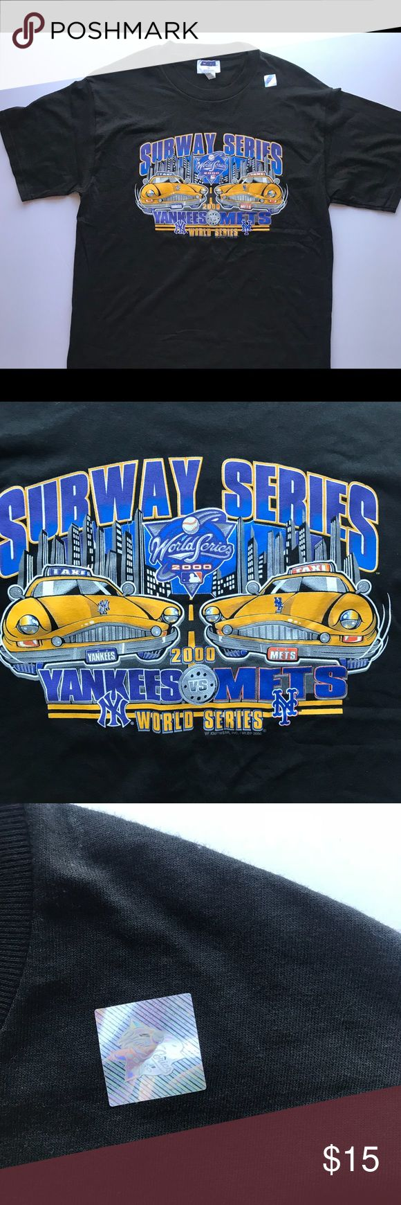 MLB 2000 Subway Series Shirt Item is brand new with sticker, never worn. Let me know if you have any questions! CSA Shirts Tees - Short Sleeve