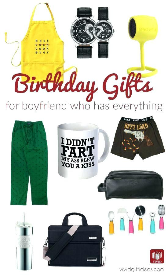 Find The Perfect Birthday Gift For Boyfriend Who Has Everything Discover 12 Inspirational Ideas Him Seems To Own Already
