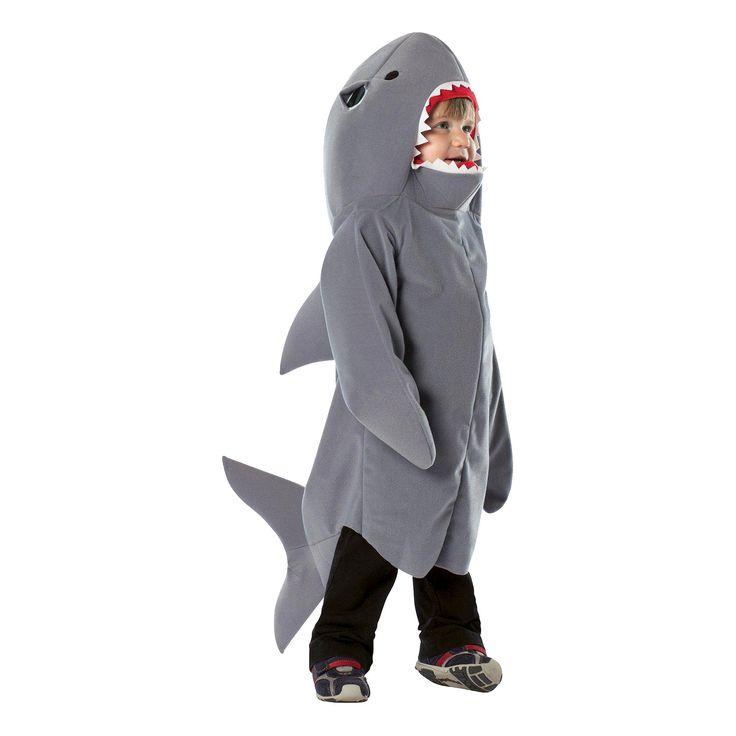 Halloween Toddler Kids' Shark Costume 3T-4T, Toddler Boy's, Variation Parent