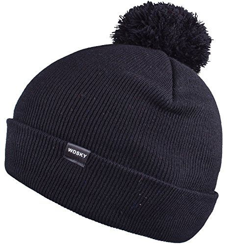 ec6f0569eed Cool Top 10 Best Sports Winter Hats With Ball On Top - Best of 2018 Reviews