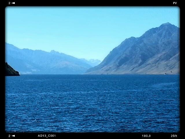 Lake Hawea. March 2013