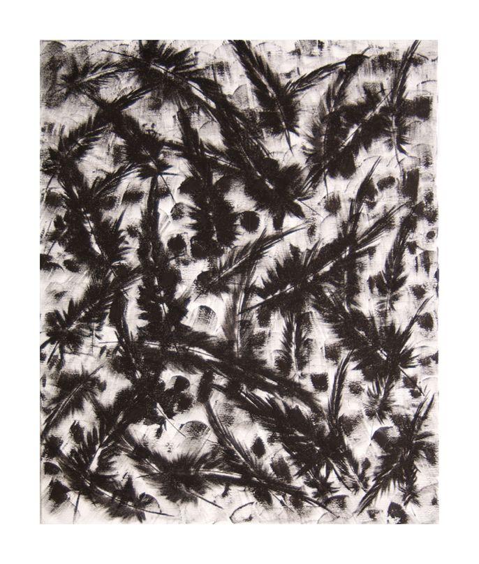 Plume de l'Annwyn 50x60 #tableau #peinture #plume