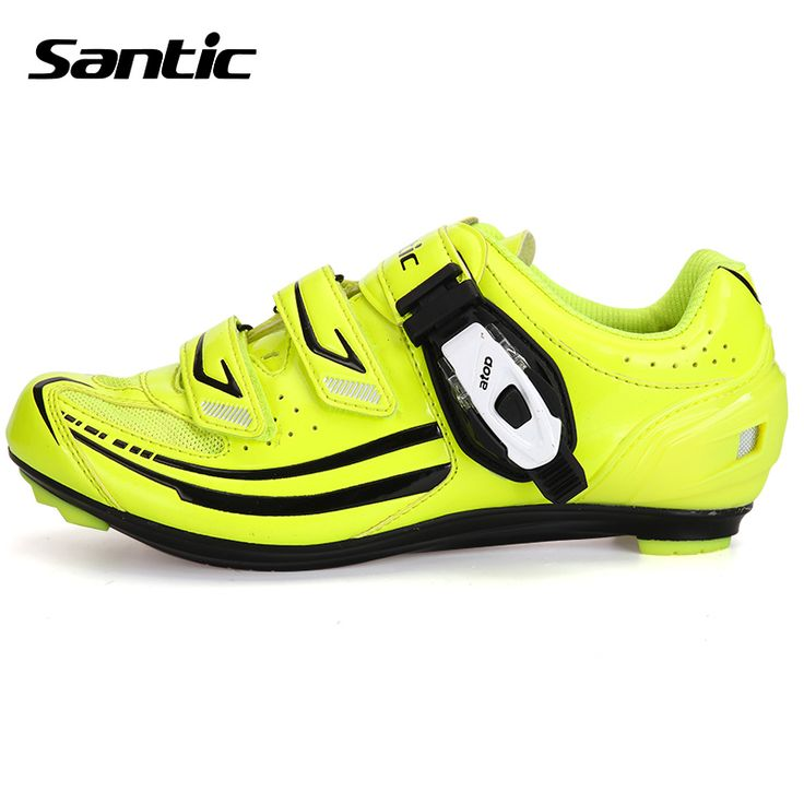 Santic Sport Women Cycling Shoes Breathable Road Bike Shoes Racing Athletic Bicycle Shoes Zapatos Ciclismo