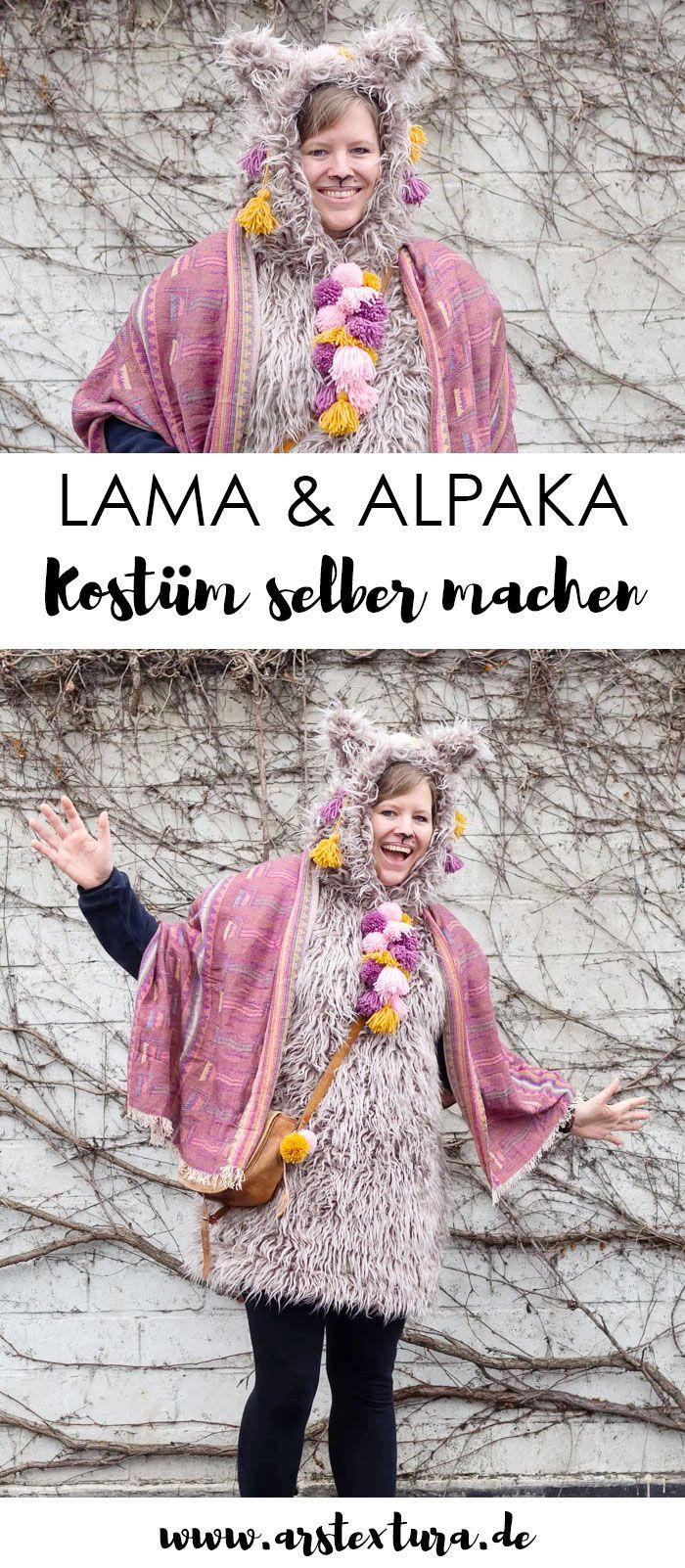 Lama Oder Alpaka Kostum Zu Karneval Selber Machen Karneval