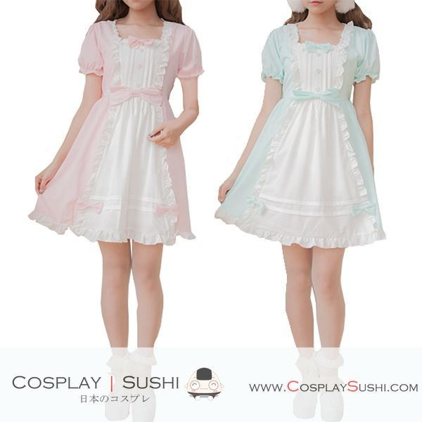 Grab our NEW Sweet Lolita Dress! SHOP NOW ► http://bit.ly/1RMsc2m Follow Cosplay Sushi for more cosplay ideas! #cosplaysushi #cosplay #anime #otaku #cool #cosplayer #cute #kawaii #CocktailDress #Dress #Lolita #fashion #clothes #style #design