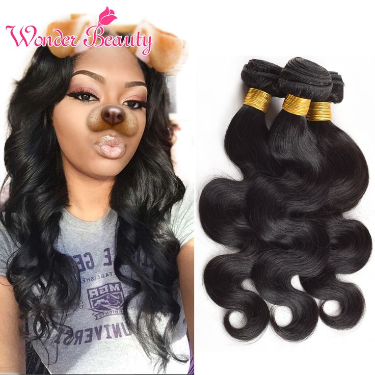 Malaysian Body Wave Human Hair Extensions Virgin Malaysian Hair Weave Natural Black 4Pieces Unprocessed Body Wave Hair 8-30 inch