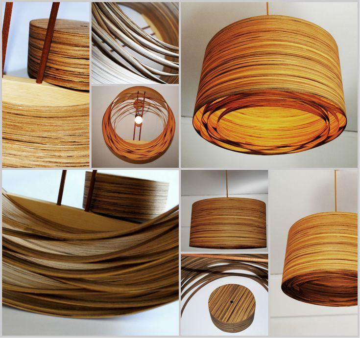 Spiral zapatero #handmade #woodlamps #pendantlight #woodenlights #woodwork #veneer #veneerlight Φωτιστικό οροφής από καπλαμά zapatero και ξύλο πεύκου. Διαθέτει μεταλλικό ντουί και υφασμάτινο καλώδιο. Διαστάσεις: διάμετρος καπέλου 50 εκ., ύψος καπέλου 30 εκ. Ceiling light, made of zapatero veneer and pinewood. Comes with fabric power cable and metal lamp holder. Dimensions: Diameter 50 cm, Height 30 cm