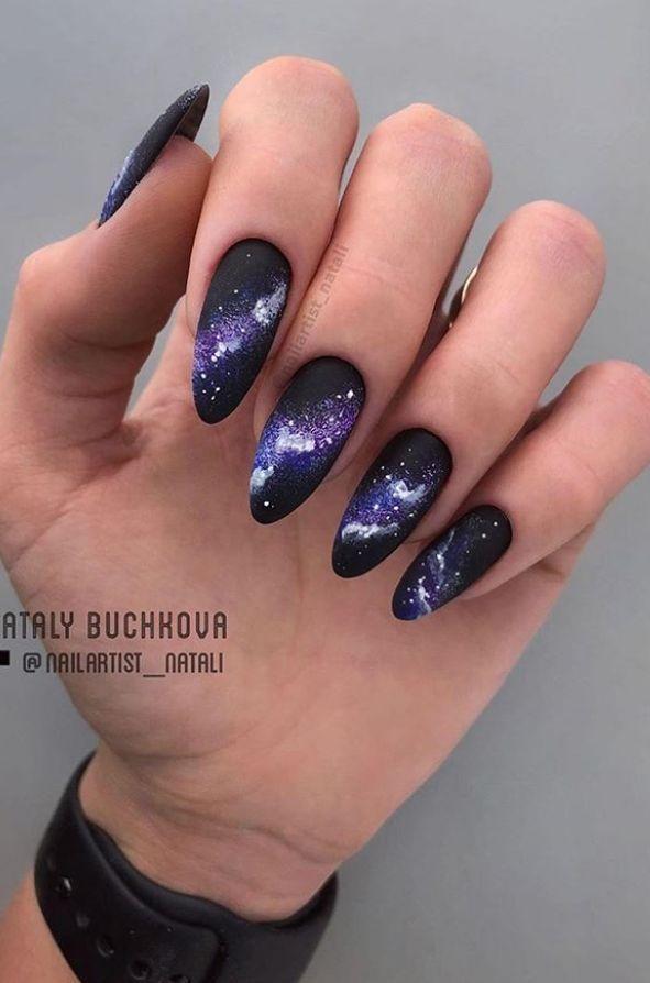 36 erstaunliche natürliche kurze Mandelnägel Design für Herbst Nägel Nail Art