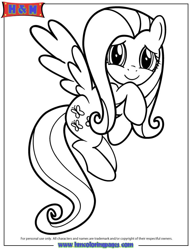 My Little Pony - Friendship is Magic coloring pages!