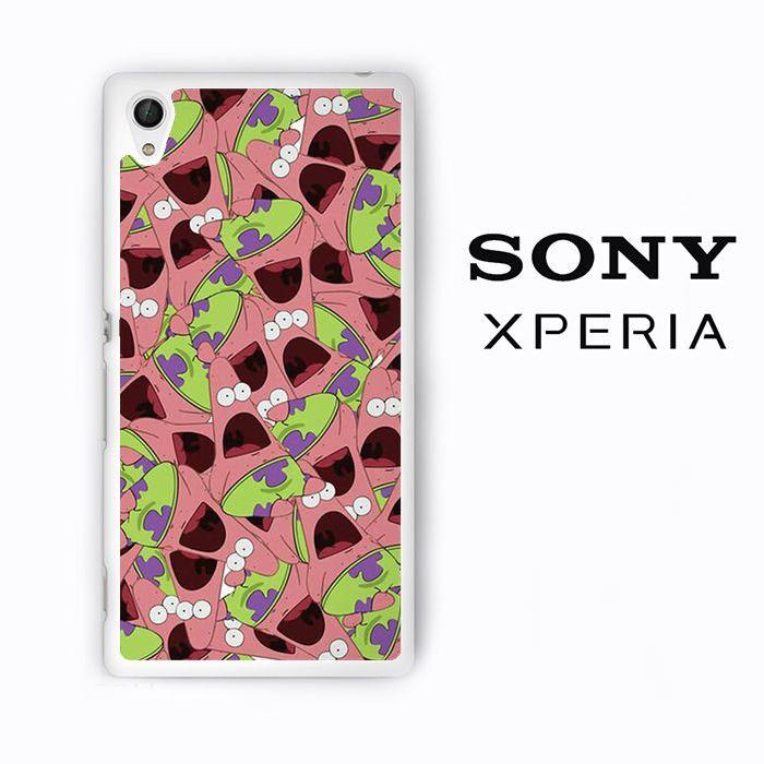 Patric Star art for Sony Xperia Z1/Z2/Z3 phonecases