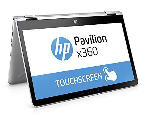"""HP Pavilion x360 14-ba001ns - Ordenador portátil convertible de 14"""" HD (Intel Core i3-7100U, 4 GB RAM, 500 GB HDD, Intel HD Graphics 620, Windows 10); Plateado - Teclado QWERTY Español https://images-eu.ssl-images-amazon.com/images/I/41Ei-hGELOL.jpg PORTATIL HP PAVILLON X360 14-BA001NS I3-7100U 4GB 500HD 14 W10 Procesador Intel Core i3-7100U de 2,4 GHz, 3 MB de caché, 2 núcleos Memoria RAM de 4 GB LPDDR4 – 2133 SDRAM Memoria HDD de 500 GB con 5400 rpm Tarjeta gráfi"""