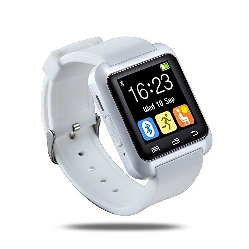 Smart Wrist Wrap Watch Phone, Smart Watch for Android Samsung, Caselo U80 Bluetooth 4.0 for Smartphones IOS Android Apple iphone 5/5C/5S/6/6 Puls Android Samsung Galaxy S3/S4/S5 /S6 Note 2/Note 3 Note 4 HTC Sony (White) Caselo http://www.amazon.com/dp/B00VK10576/ref=cm_sw_r_pi_dp_LnC0wb19DZD8C