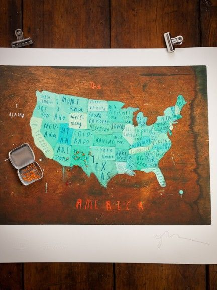 The Best Places Youve Been Map Ideas On Pinterest Planning - Artistic map of us