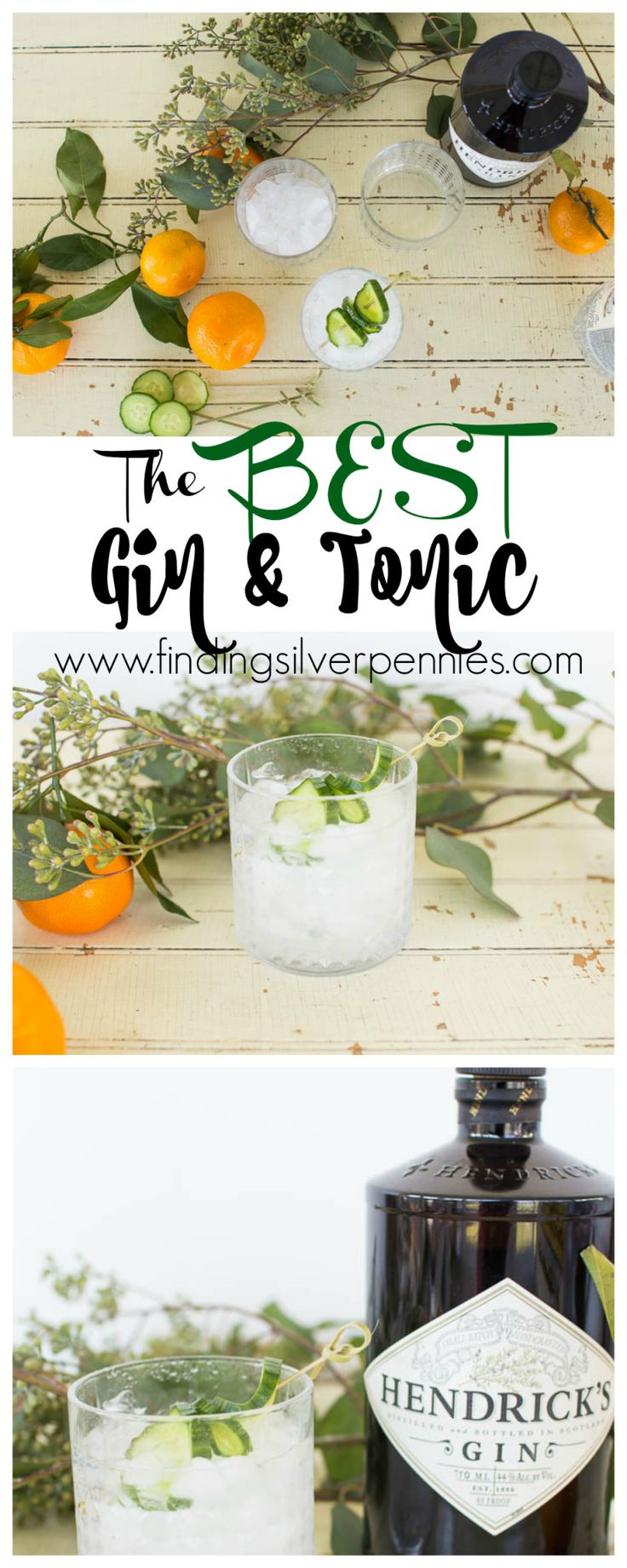 How to Make the Best Gin and Tonic Finding Silver Pennies