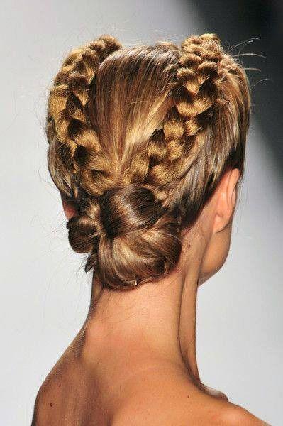 celtic women hair style