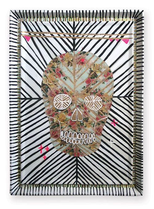 Jai Vasicek of Ahoy Trader opened Paradiso at fenton&fenton - #Skull Art