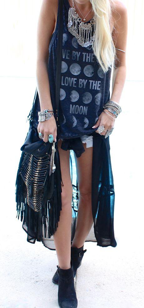 ☮ American Hippie Bohemian Style ~ Boho Gypsy