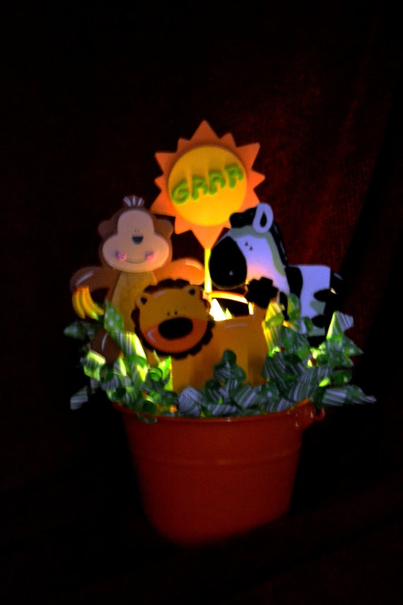 14 inch Childrenu0027s Night Light and Bedroom Accessory by Glograms- Jungle-  Going Bananas  & 19 best Rainforest area images on Pinterest | Jungle room ... azcodes.com