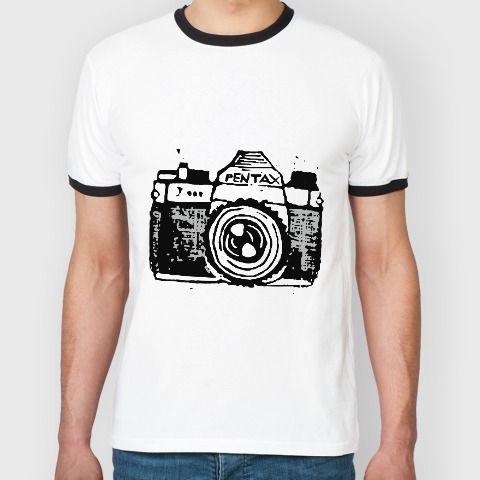 Дизайнерская футболка #Pentax в подарок за #репост