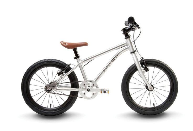 "Early Rider Belter 16"" Kids Balance Bike: Silver"